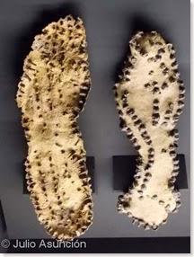 Caligae de la necrópolis de la villa romana de l´Alfas del PI