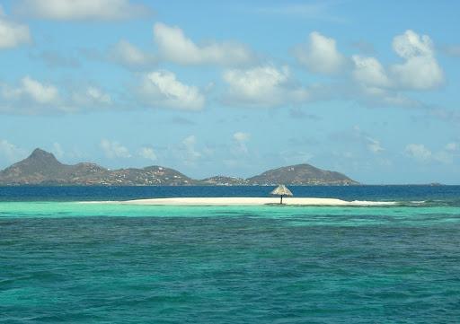 Vue de l'île Morpion