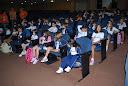 Corredores se enchem de alegria com a volta às aulas dos estudantes