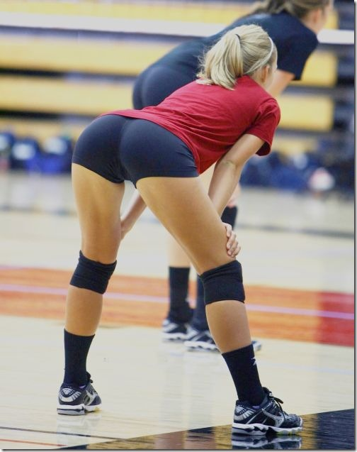 sexy girls volleyball shorts 3