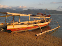 Gili Air at sunset