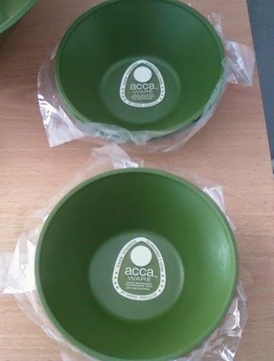 Accalac 7 piece salad set bowls