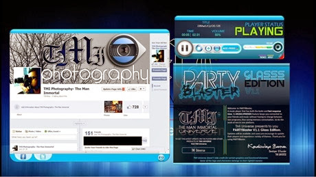 PartyBlaster Music Player