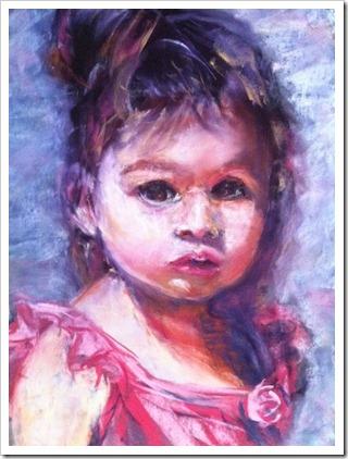 julia sattout portrait artist