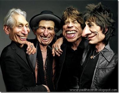 Caricatura Rolling Stones