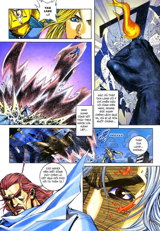 X Bạo Tộc chap 67 - Trang 3