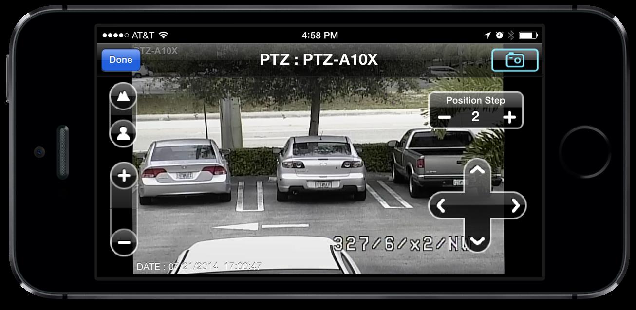 Iphone App With Ptz Camera Controls
