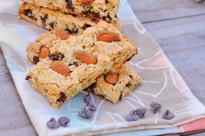 gluten free maple granola bars-1110