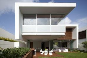 Casa moderna Casa FF Hernandez Silva Arquitectos