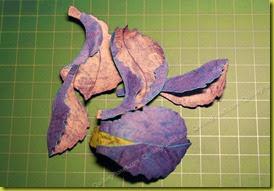 Готовые лепестки для ириса