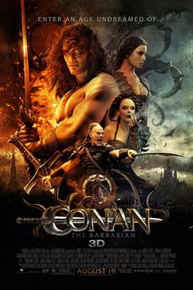 Conan - O Bárbaro 3D' será lançado em 19 de Agosto, no Brasil - Cartaz trilher