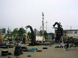 Tire Park, near Kamata Station, Tokyo