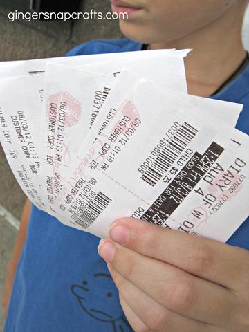 wimpy kid movie tickets