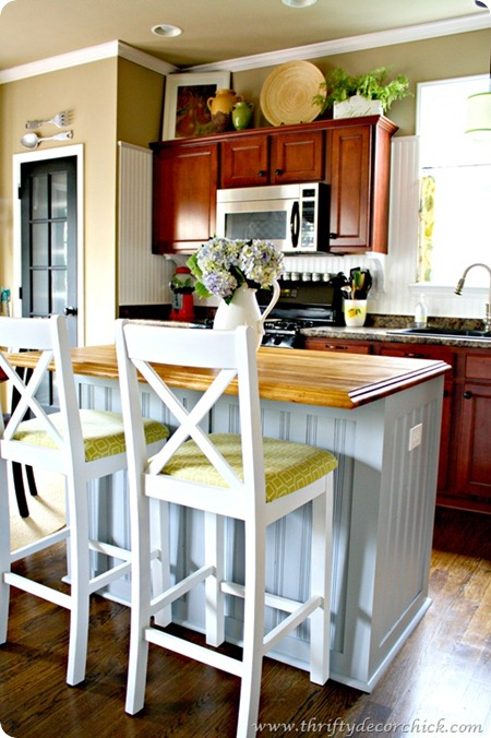beadboard kitchen island
