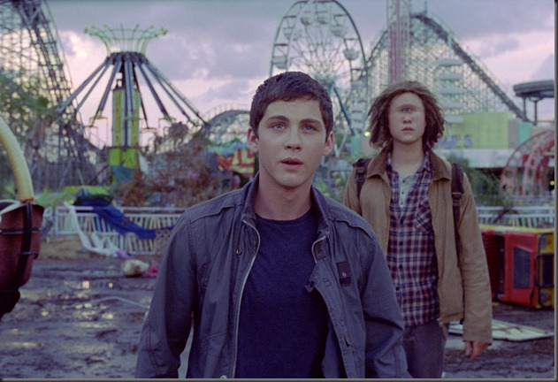 logan lerman and douglas smith PERCY JACKSON SEA OF MONSTERS