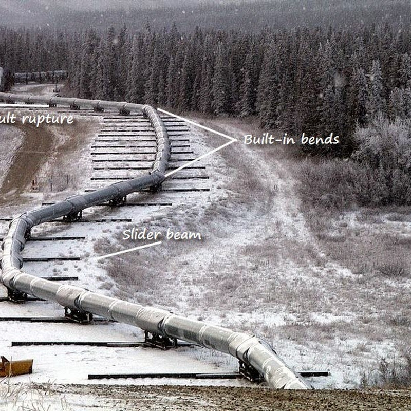 How The Trans-Alaska Pipeline Survived The 2002 Denali Earthquake