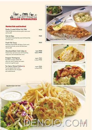 Village Tavern Manila Philippines Menu10