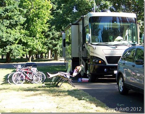 Armitage campsite