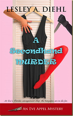 Secondhand_Murder_Lesley_Diehl_Cover