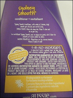 Aussie Sydney Smooth Conditioner