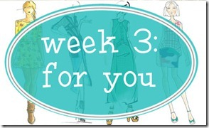 week 3 for you