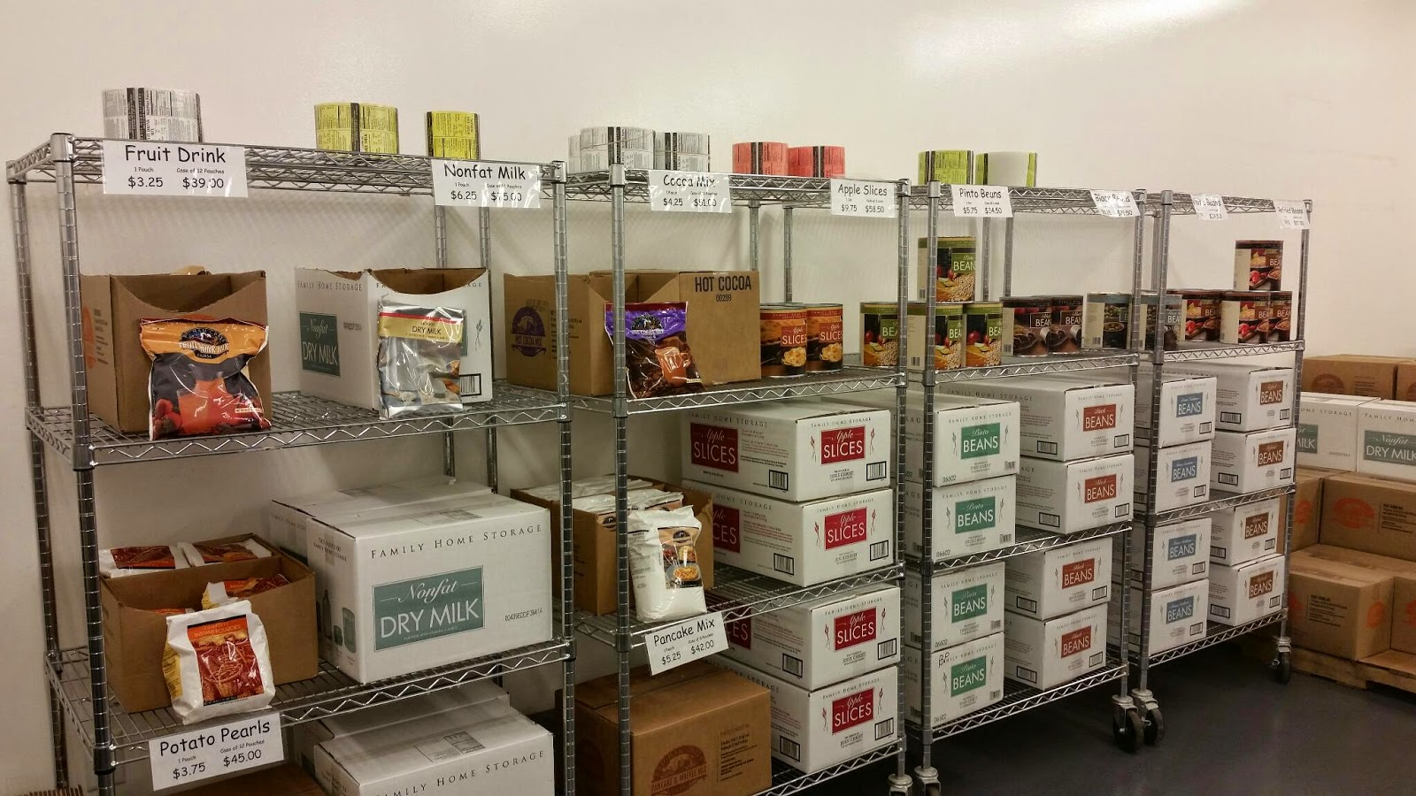 Prepared LDS Family: My Visit to The Layton Home Storage Center