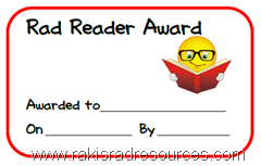 Silly Student Awards - Free download from Raki's Rad Resources