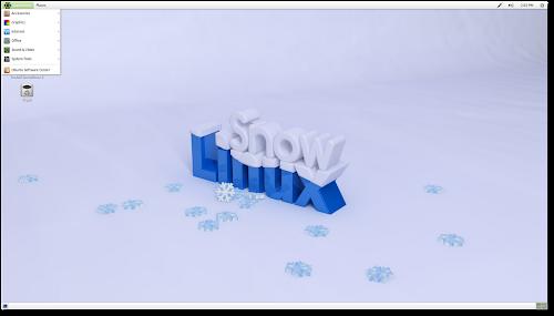 Snowlinux 3 - gnome