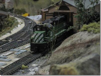 008 Polk Station Rail in Dallas, Oregon on December 11, 2005