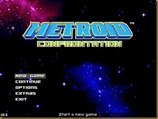 Metroid Confrontationタイトル