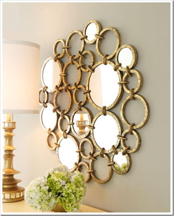 espelho circulos