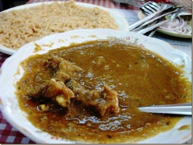 cold mutton dhansak