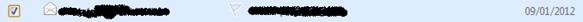 Selecione o e-mail