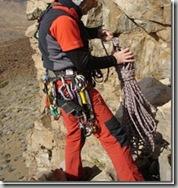 Guardando cuerdas en el Teide