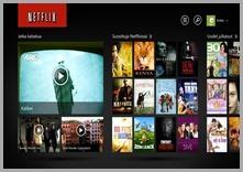Netflix Windows 8 sovellus