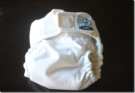 Softbums Omni Cloth Diaper - Front view