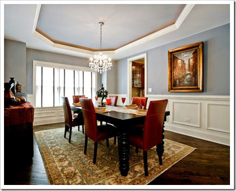 magnificent-pictures-of-dining-rooms-with-wainscoting-and-wooden-crafts-also-antique-chandelier