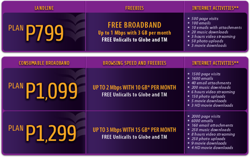 Globe bares new Tattoo Home landline and internet plans