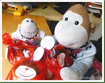Monkey gift bags