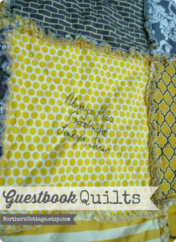 Guestbook QUILTS {NorthernCottage}