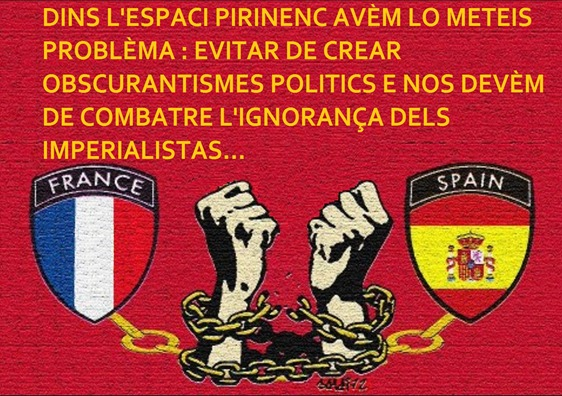 imperialistas francés e espanhòl comentat
