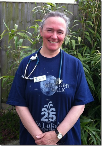 Dr Kate Midnight Walk 30May13
