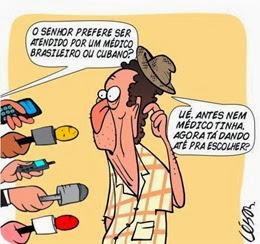 médico brasileiro ou cubano_César