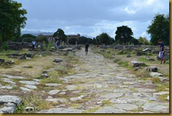 A road through Paestum
