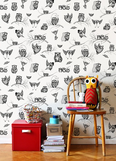 wallpaper-owls