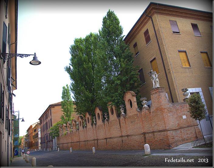 Palazzo Gigioli-Varano - Palace Giglioli, Ferrara, Italy, foto1