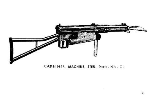 Carbines Machine Stem 9mm Mks