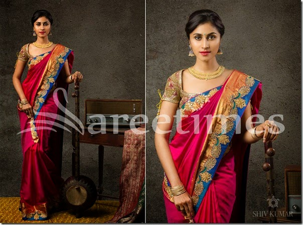 Bhargavi_Kunam_Blue_Pink_Silk_Saree