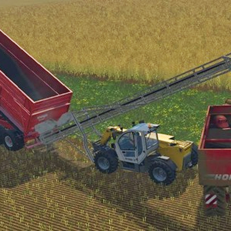 Farming simulator 2015 - Conveyor belt set v 3.3