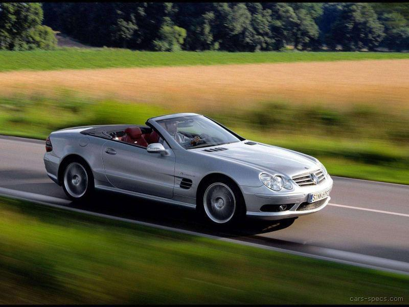2003 mercedes benz sl class sl55 amg specifications for Mercedes benz sl55 amg specs